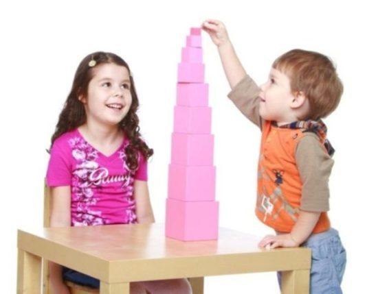 Montessori Learning Through Sensorial Work - Silverline